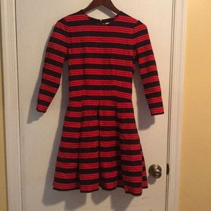Gap pleated skirt dress, with pockets!